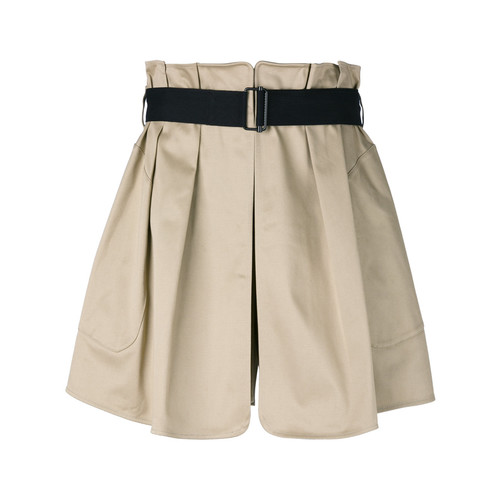 RAG & BONE Belted Flared Shorts