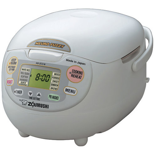 Zojirushi NS-JCC18 Neuro Fuzzy 10-Cup Rice Cooker & Warmer