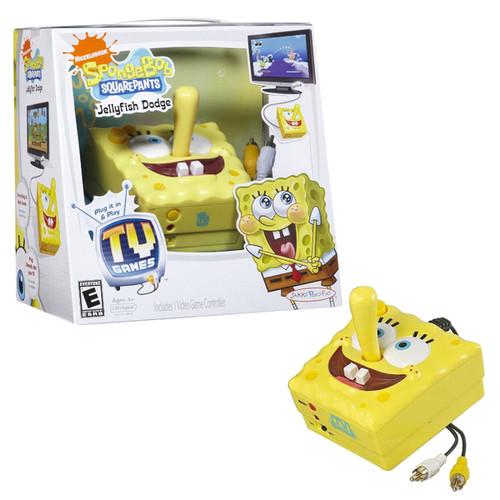 Spongebob Squarepants Action Figures Spongebob Plug-N-Play TV Video Game