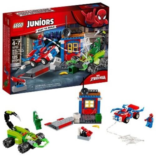 LEGO Juniors Spider-Man vs. Scorpion Street Showdown 10754