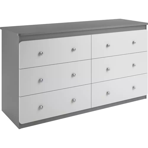 Cosco Willow Lake 6-Drawer Dresser