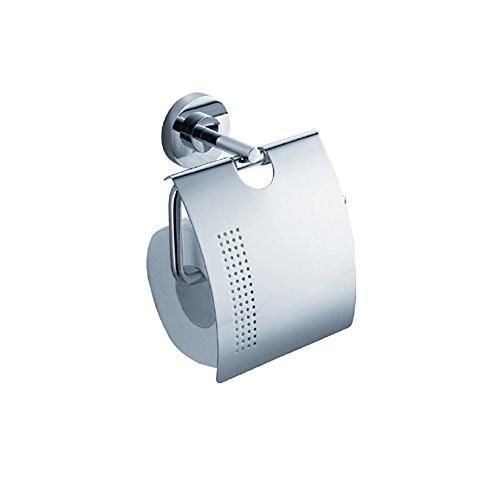 Fresca Bath FAC0826 Alzato Toilet Paper Holder, Chrome [Chrome]
