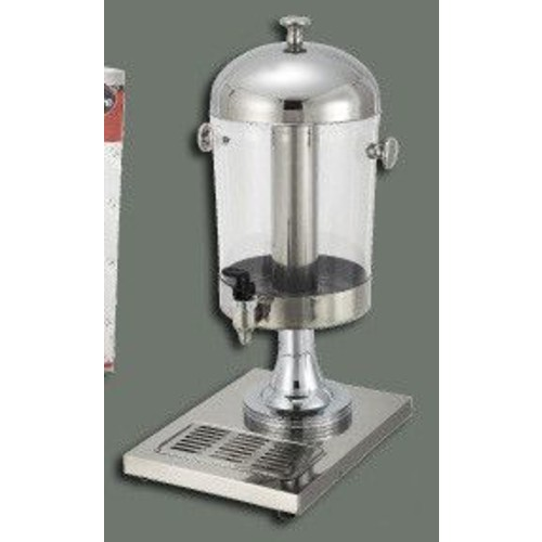 Winco Single Juice Beverage Dispenser; Silver