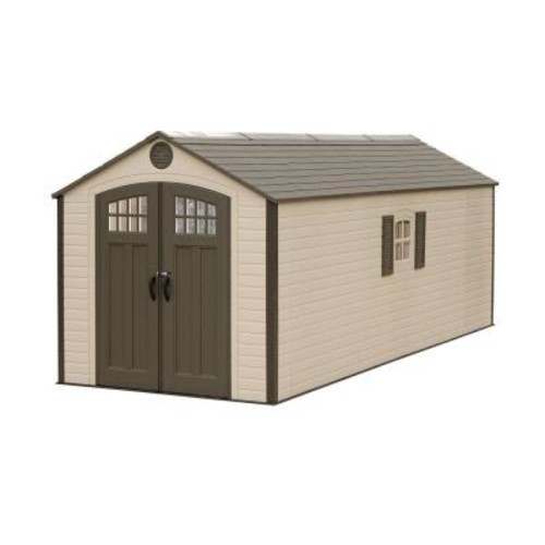 Lifetime 8 ft. x 20 ft. Plastic Storage Shed