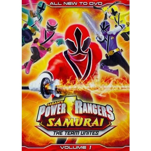 Power Rangers Samurai: The Team Unites Vol. 1 (DVD)