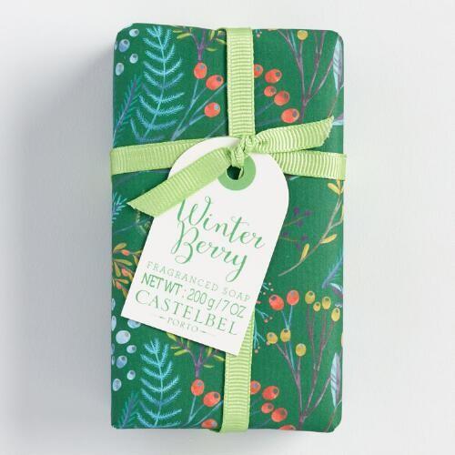 Castelbel Floral Winter Berry Bar Soap