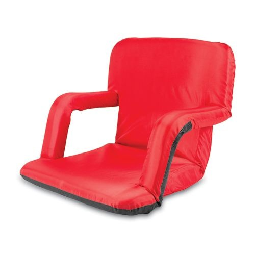 Picnic Time Padded Ventura Seat with Armrests - Red