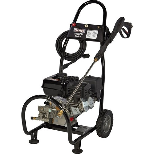 Ironton Gas Cold Water Pressure Washer  2,600 PSI, 2.3 GPM, Model# 87034