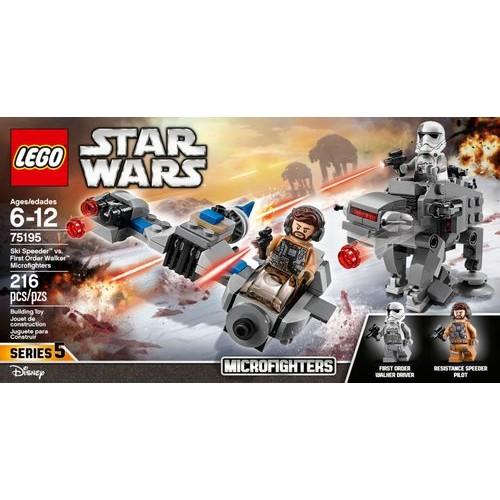 LEGO - Star Wars Ski Speeder vs. First Order Walker Microfighters