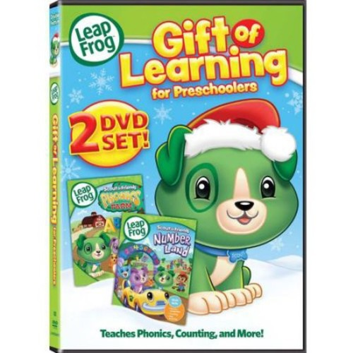 LeapFrog: Gift Of Learning For Preschoolers - Scout And Friends: Phonics Farm / Scout And Friends: Number Land (Widescreen)