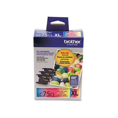 Brother LC753PKS LC-75CMY Innobella High-Yield Ink BRTLC753PKS