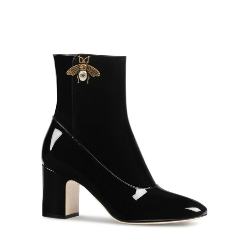 GUCCI Lois Bee High Heel Booties