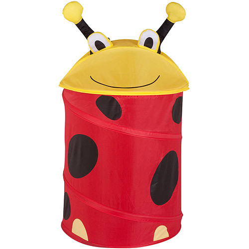 Honey-Can-Do HMP-02057 Kid's Pop-Up Hamper, Lady Bug, Medium [Lady Bug]