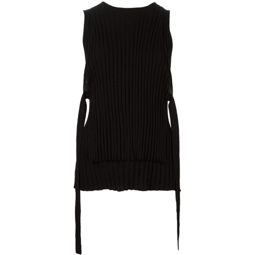 HELMUT LANG Straps Detail Knitted Tank