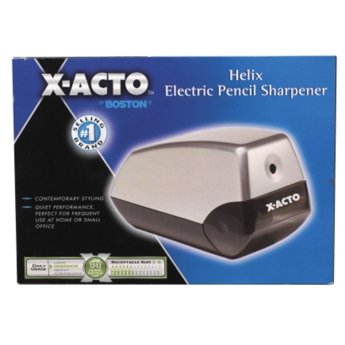 X-Acto Electric Pencil Sharpener For Standard Size Pencils Gray(1900)
