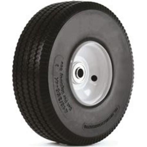 Martin Wheel 3557727 410-350-4 Flat Free Wheel for Hand Trucks, 10 in.