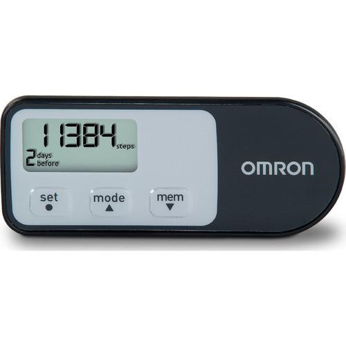 Omron HJ-321 Tri-Axis Optimized Pedometer - Black