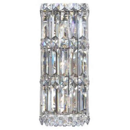 Quantum 2236 Wall Sconce [Finish : Polished Chrome; Crystal Type : Golden Shadow]