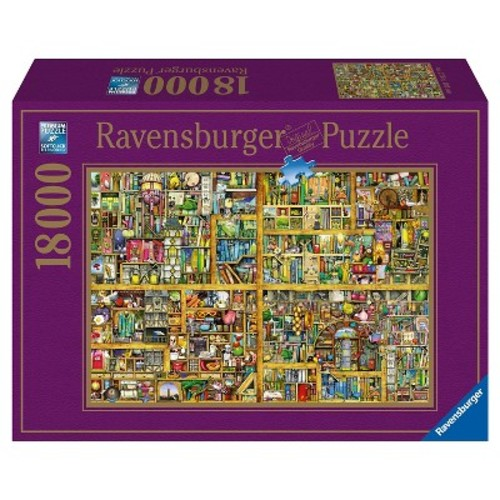 Ravensburger Jigsaw Puzzle 18000-Piece - Magical Bookcase
