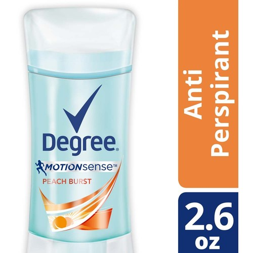 Degree Motionsense Antiperspirant & Deodorant, Peech Brust