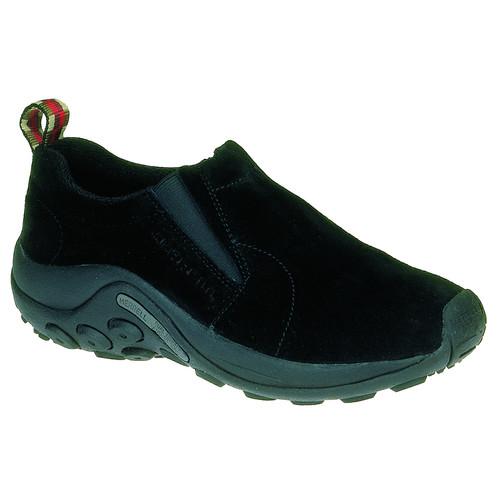 MERRELL Womens Jungle Moc Shoes, Black