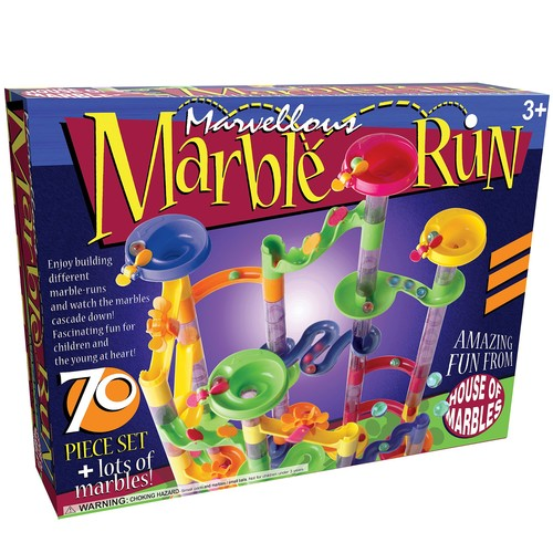 Marvellous Marble Run - 70 Piece Set