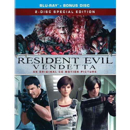 Resident Evil: Vendetta [Blu-ray] [2017]