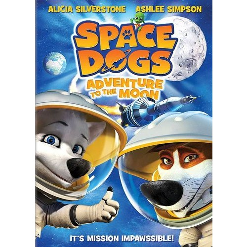 Space Dogs: Adventure to the Moon [DVD] [2016]
