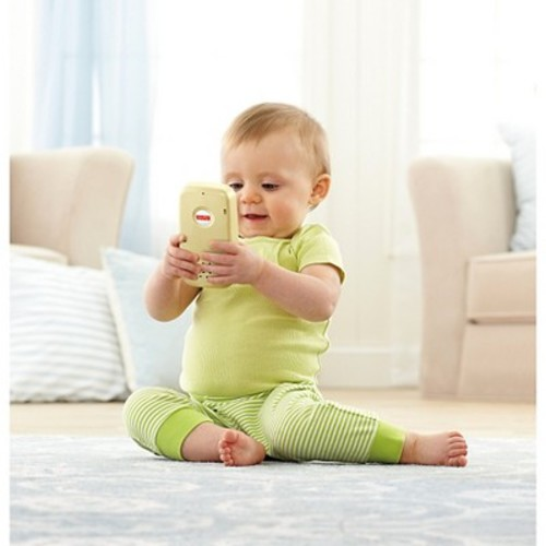 Fisher-Price Laugh and Learn Smart Phone - White