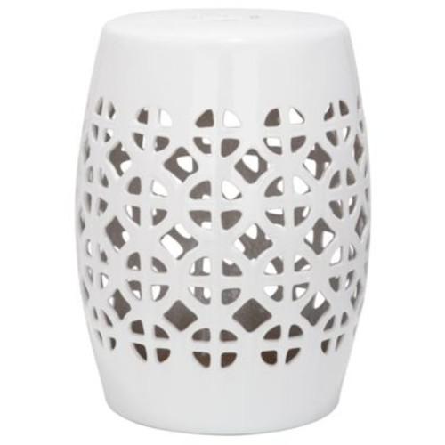 Safavieh - Latticed Ceramic Garden Stool