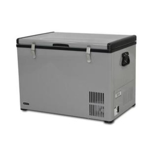 Whynter 28 Freestanding Chest Freezer with 2.1 cu. ft. Capacity Grey Door Manual Defrost in Grey