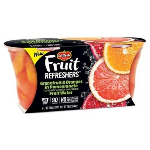 Del Monte Mixed Fruit Refreshers Grapefruit & Oranges - 14oz