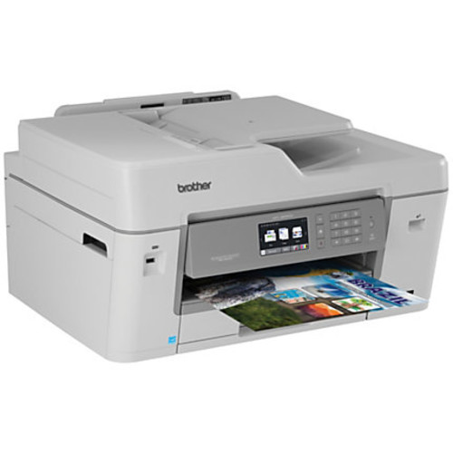Brother Business Smart Pro Wireless Color Inkjet All-In-One Printer, Scanner, Copier, Fax With 20 INKvestment Cartridges, MFC-J6535DW XL