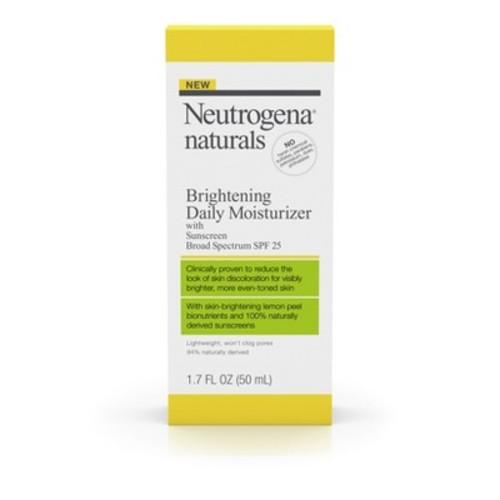 Neutrogena Naturals Brightening Daily Moisturizer SPF 25 - 1.7 oz