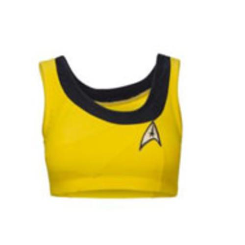 Star Trek The Original Series Swimsuit Gold XL Top