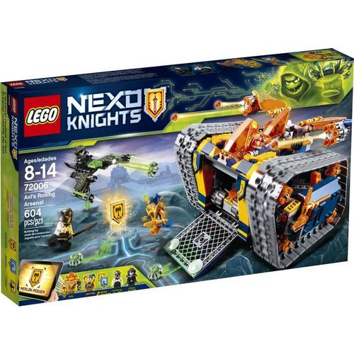 LEGO Nexo Knights Axl's Rolling Arsenal 72006