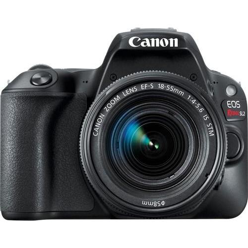 Canon - EOS Rebel SL2 DSLR Camera with EF-S 18-55mm IS STM Lens - Black
