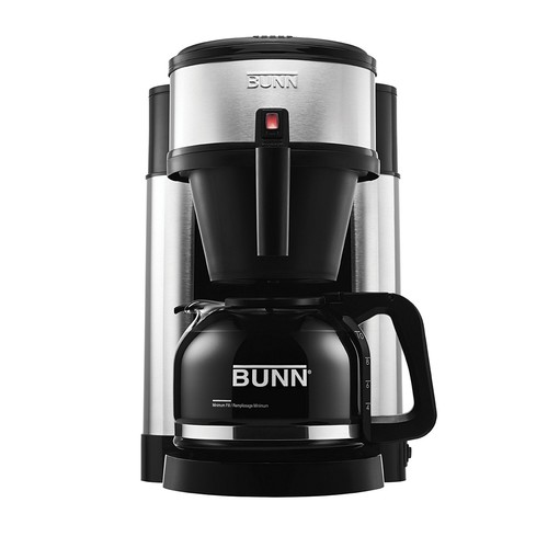BUNN NHS Velocity Brew 10-Cup Home Coffee Brewer [Black]