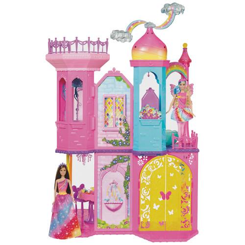 Barbie Dreamtopia Rainbow Cove Princess Castle Playset