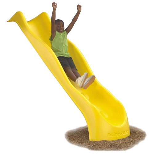 Swing-N-Slide Playsets Yellow Super Speed Wave Slide