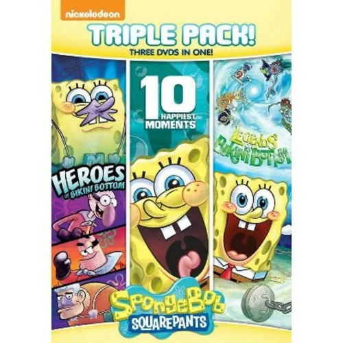 SpongeBob SquarePants: 10 Happiest/Heroes of Bikini Bottom/Legends of Bikini Bottom [3 Discs]