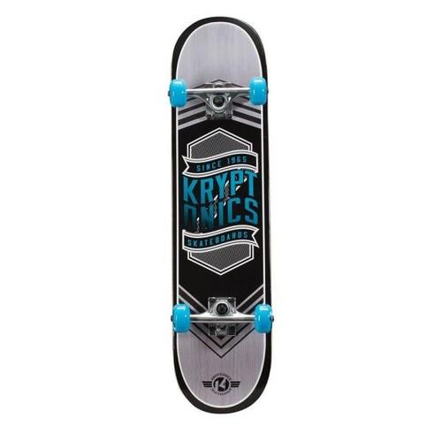 Kryptonics 31 in. Flag Blue Drop-In Complete Skateboard