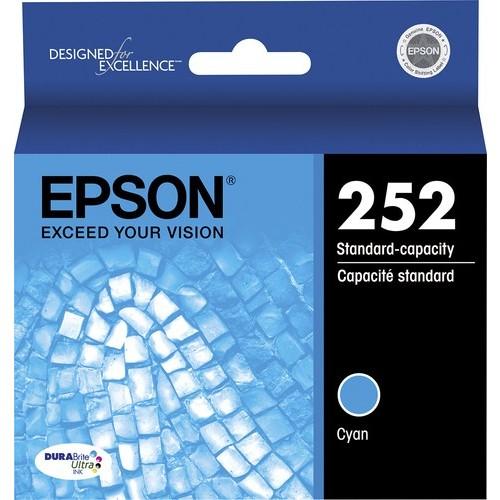 Epson - 252 Ink Cartridge - Cyan