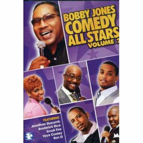 Bobby Jones: Comedy All Stars, Vol. 2 DD2
