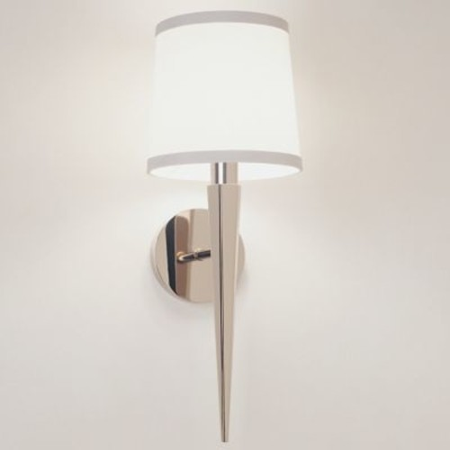 Pacific Heights Sconce (Polished Nickel) - OPEN BOX RETURN [Light Option : Incandescent; Finish : Polished Nickel]