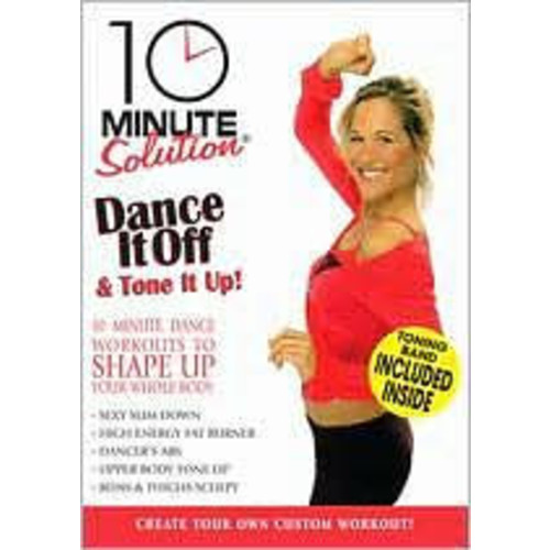 10 Minute Solution: Dance it off and Tone it Up!