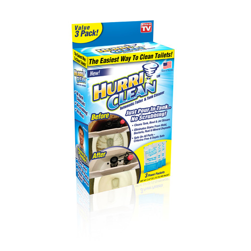 As Seen On TV HurriClean Automatic Toilet & Tank Cleaner