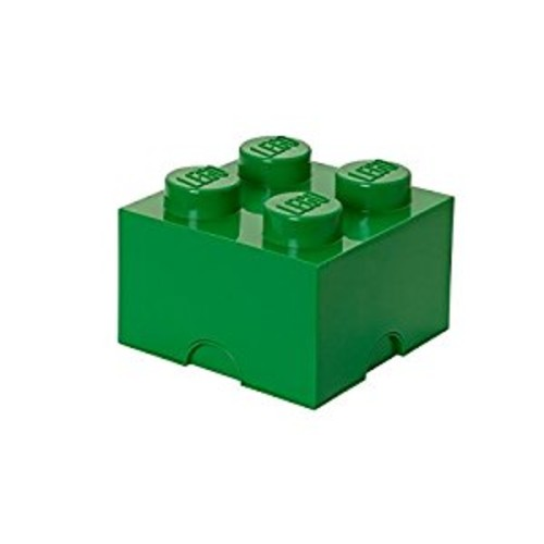 LEGO Storage Brick 4, Dark Green [Dark Green, Standard Packaging]