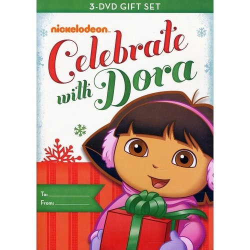 Dora the Explorer: Dora Celebrates [3 Discs] [DVD]