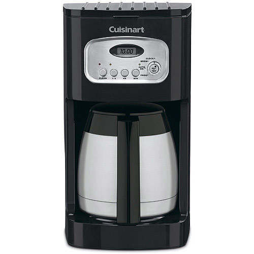 Cuisinart DCC-1150BK 10-Cup Classic Thermal Programmable Coffeemaker, Black [Black, 10-Cup]